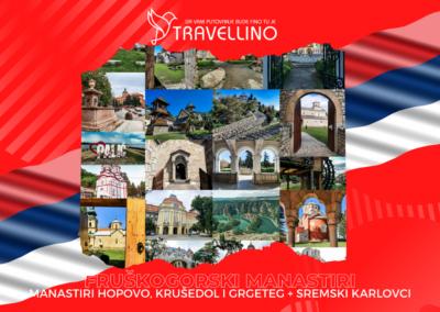 MANASTIRI KRUŠEDOL, GRGETEG, HOPOVO, SREMSKI KARLOVCI - Manastiri Fruške gore