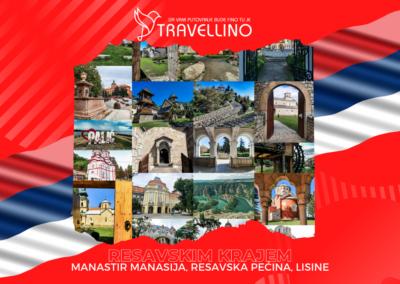 MANASTIR MANASIJA, RESAVSKA PEĆINA, VELIKI BUK / LISINE - Resavskim krajem