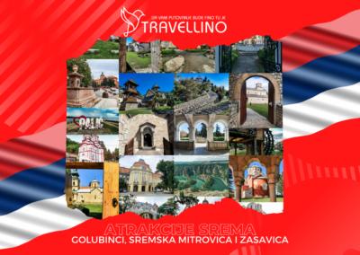 ZAMAK ŠLOS, STARA PAZOVA, SIRMIUM/CARSKA PALATA, ZASAVICA - Atrakcije Srema