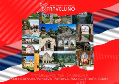 SMEDEREVSKI GRAD, TVRĐAVA RAM,– GOLUBAČKA TVRĐAVA - Tvrđave na Dunavu